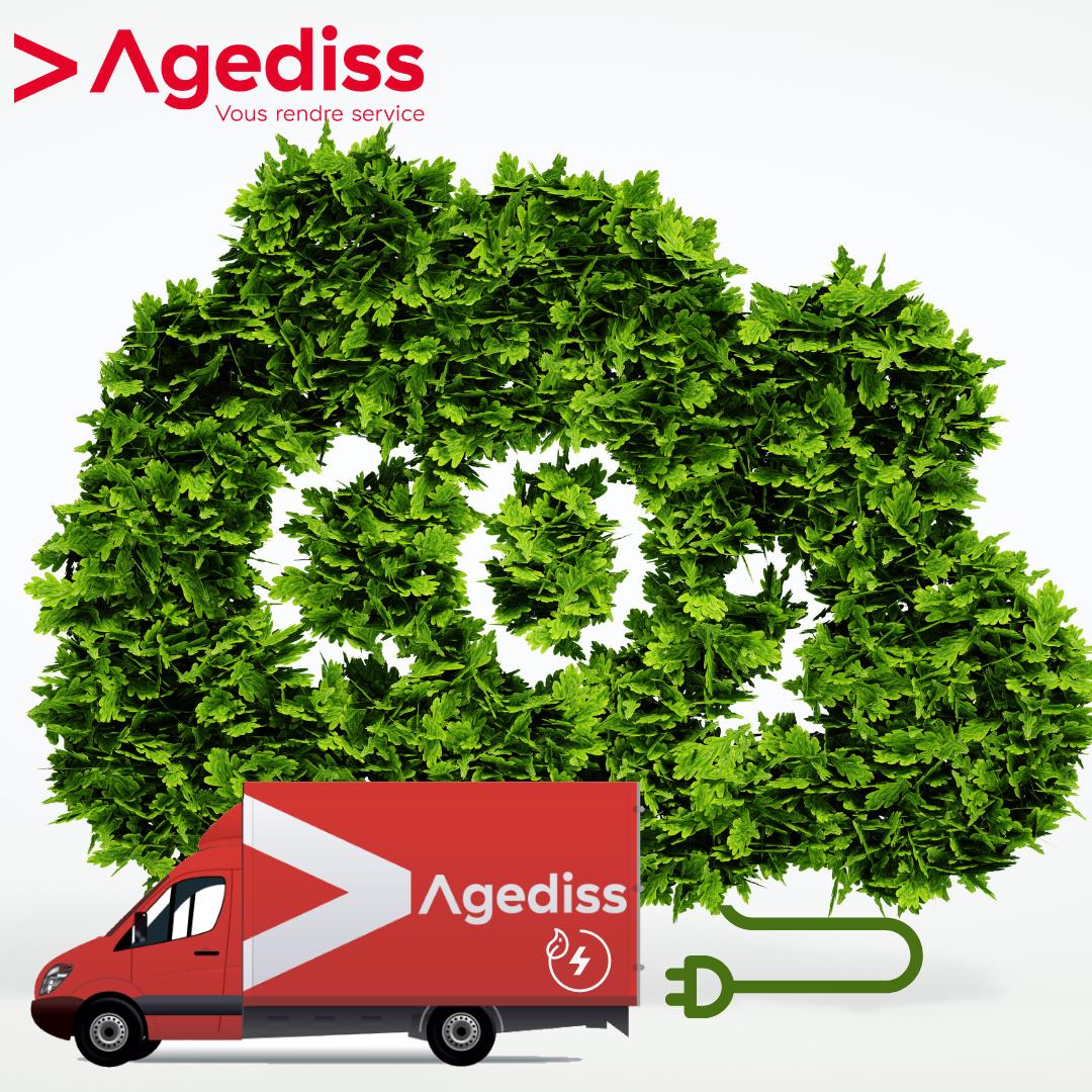 Le livreur Agediss bascule sa flotte sur les biocarburants