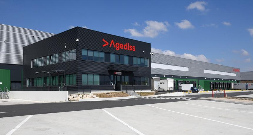 Le nouveau hub d'Agediss à Mer paré pour la vague e-commerce
